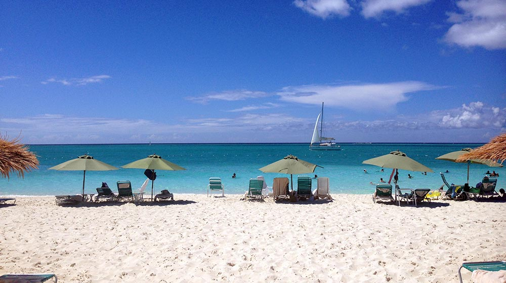August in Turks and Caicos
